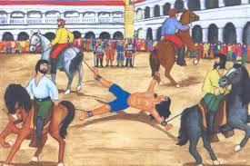 Тупак Амару I-казнь