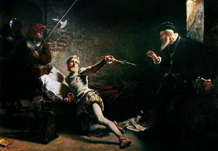 Картина «Убийство Сванте Стуре»
