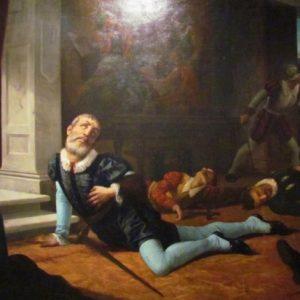 Картина Рамона Муниза. «Смерть Писарро».