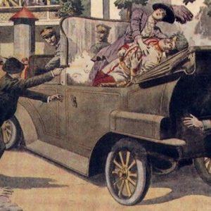 Убийство Франца Фердинанда.