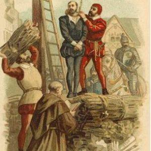 Этьен Доле - казнь