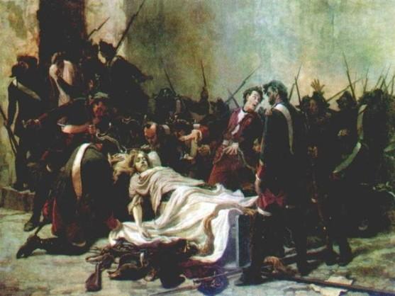 Картина Ивана Творожникова. «Мирович перед телом Ивана VI».
