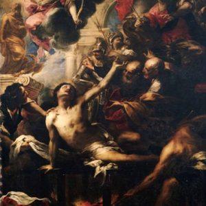 Картина Валерио Кастелло. «Мученичество св. Лаврентия»