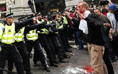Лондон-беспорядки