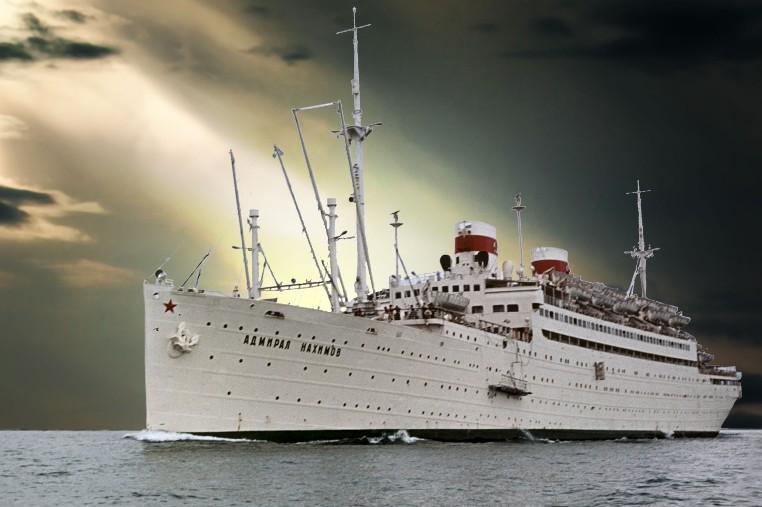 пароход Адмирал Нахимов-3
