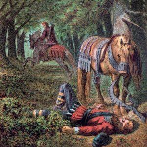 Вильгельм II Рыжий (William II) - гибель