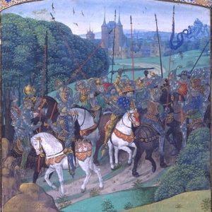 безумство короля Карла VI.