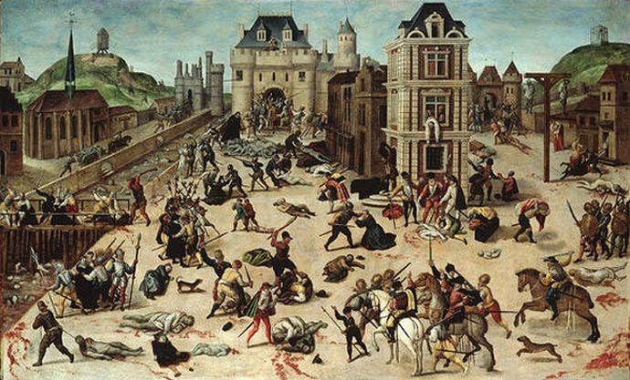 Картина Франсуа Дюбуа. «Варфоломеевская резня