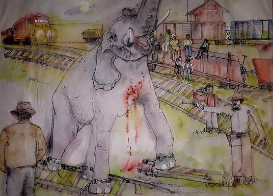 казнь слонихи