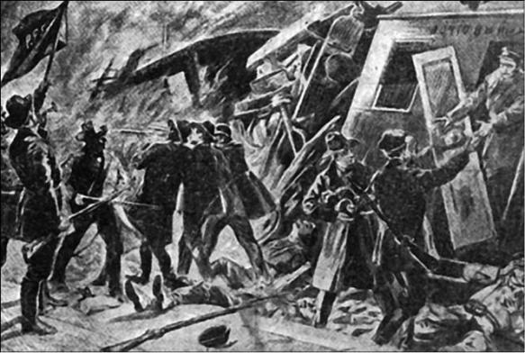 ограбление поезда в Польше-6