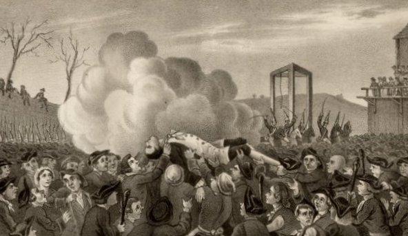 Джек Шеппард - казнь-2