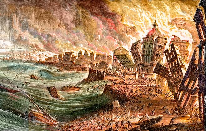 Пожар в Лиссабоне