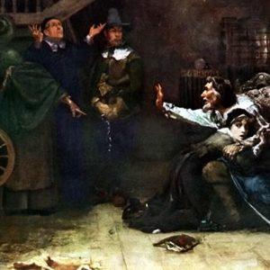 Арест ведьмы