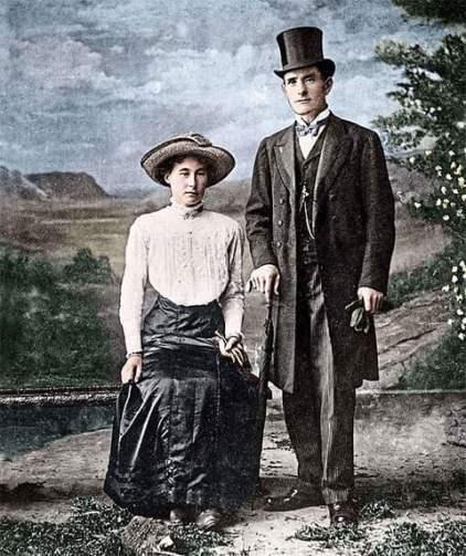 Джордж Смит с женой