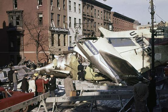 столкновение над нью-йорком