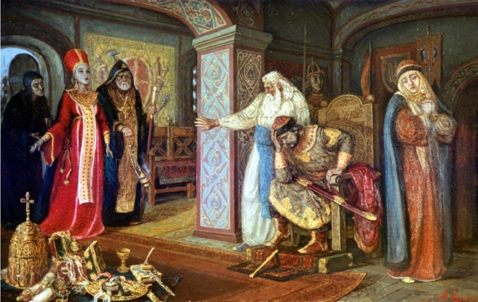 князь Владимир и Рогнеда